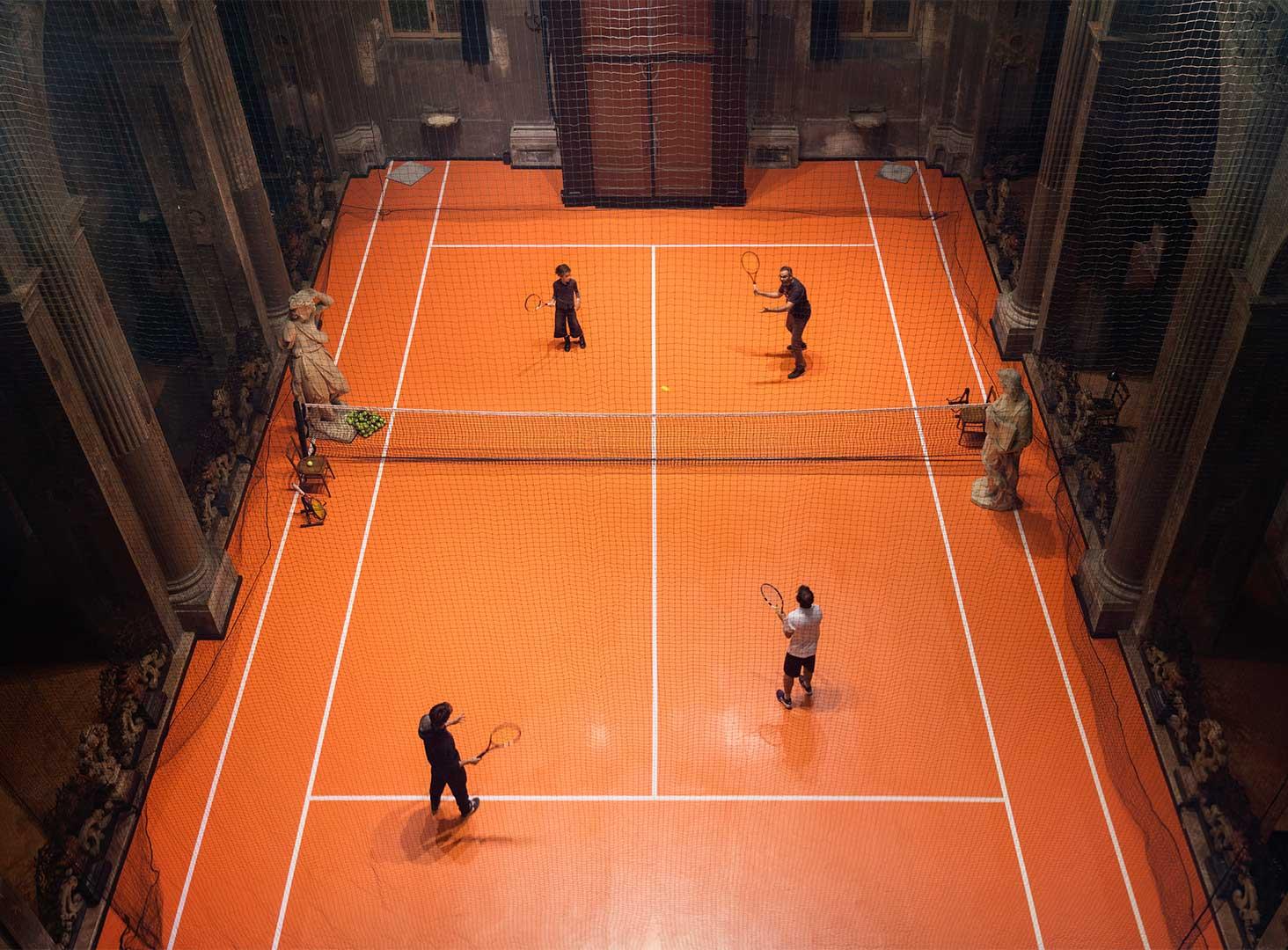 تنیس در کلیسا