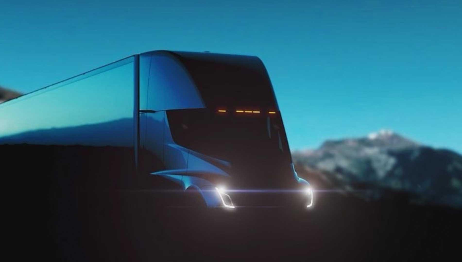 کامیون تسلا، آیندهی حملونقل جادهای