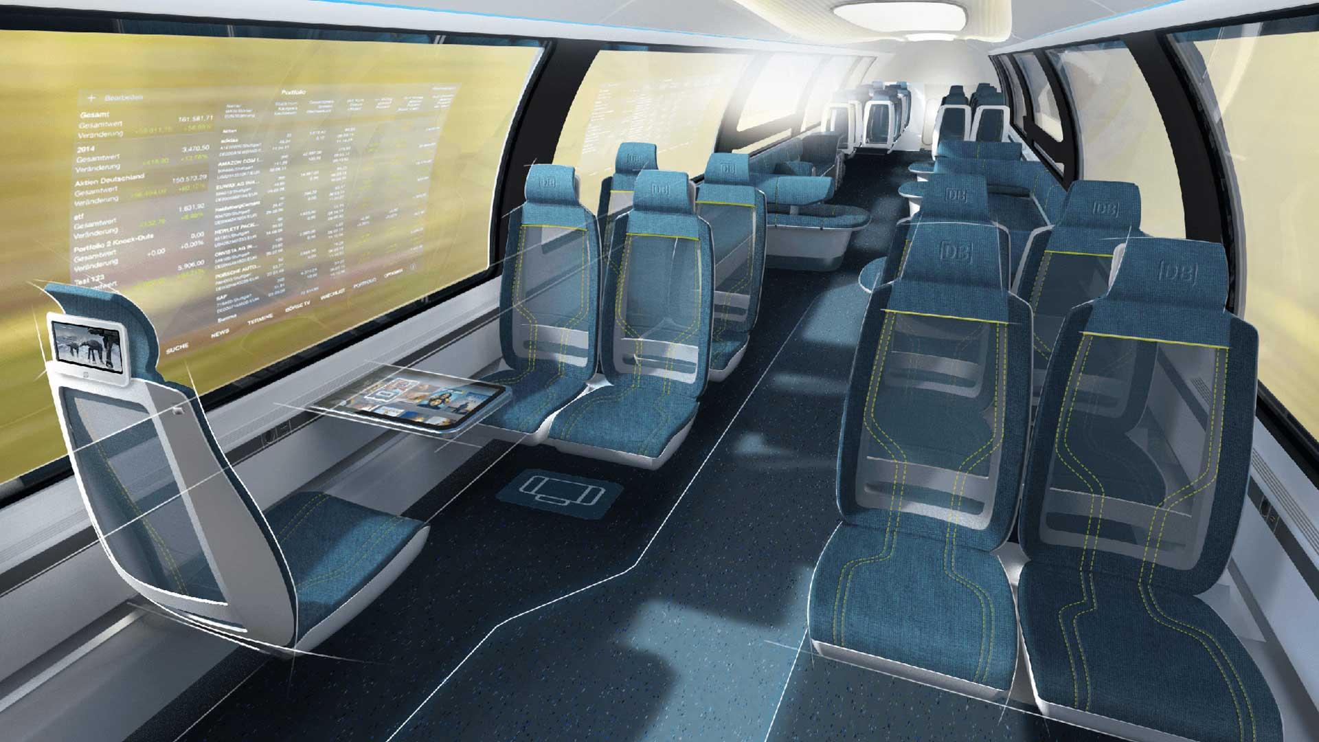 قطارهای آلمانی، به سوی آینده
