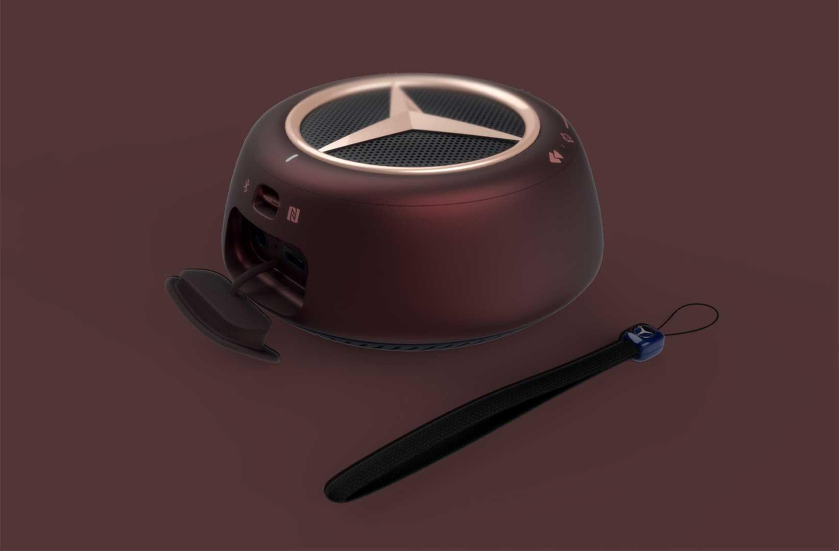 کمپانی مرسدس بنز -بلندکو خودرو