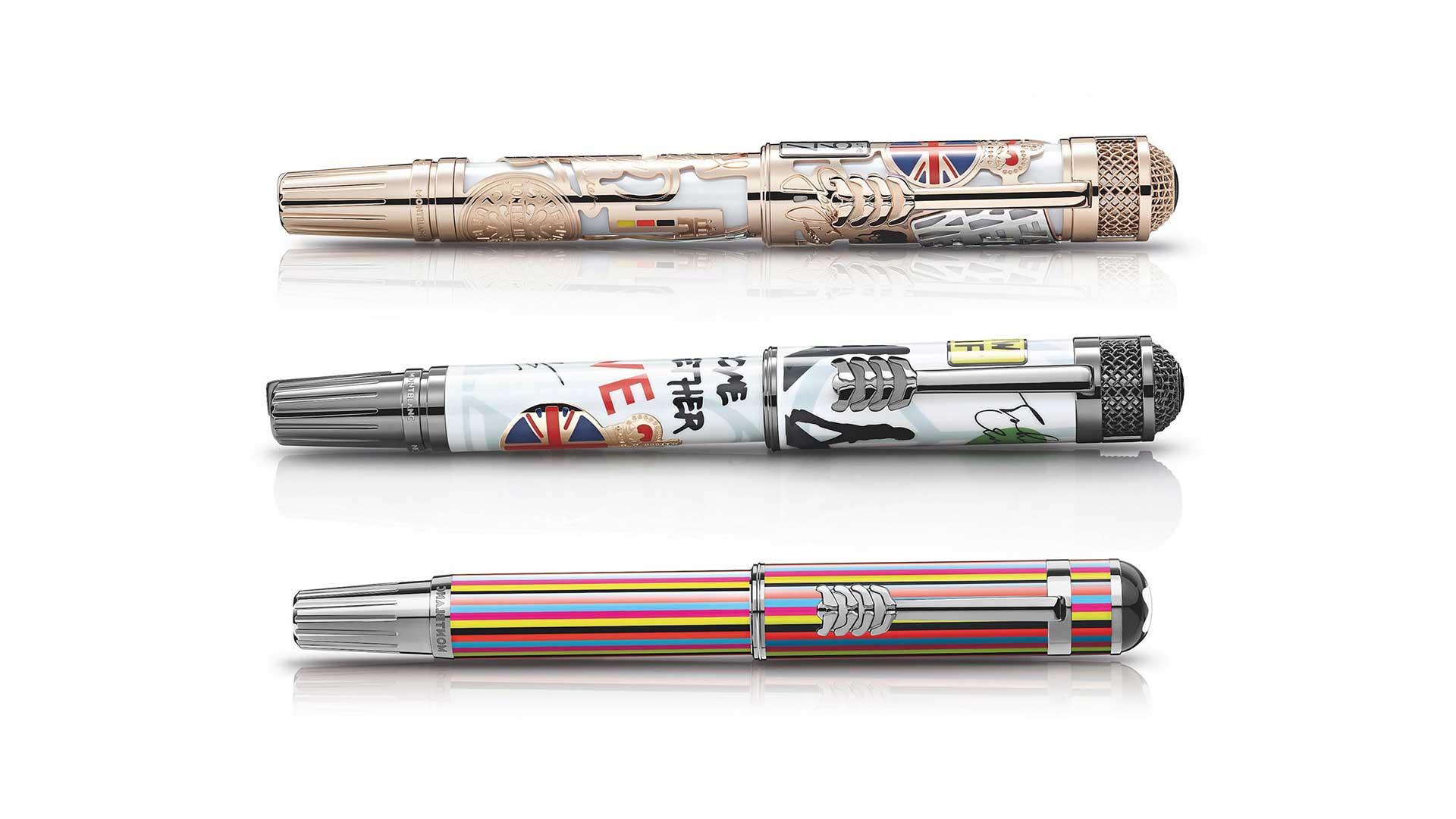 قلم-لاکچری-بیتلها-روی-خودنویس