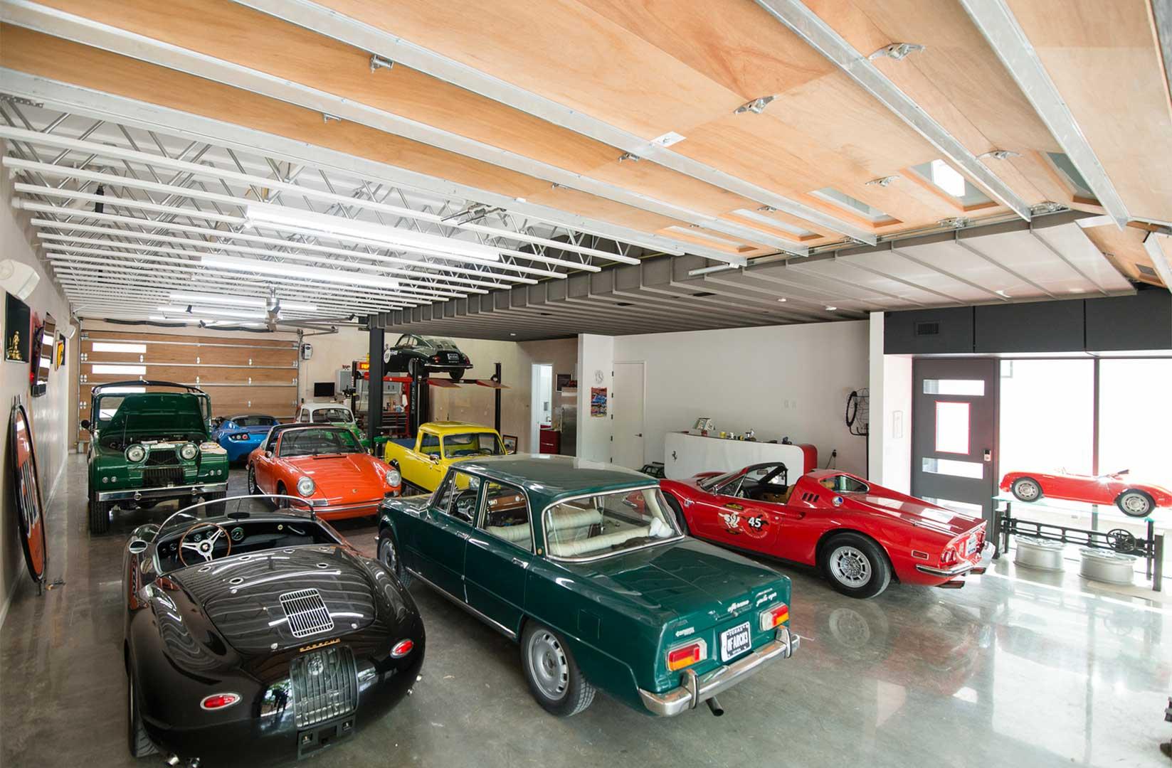 خانهای مخصوص ماشینها