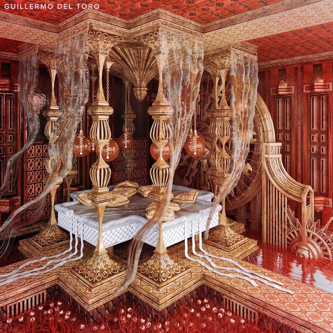 این هفت اتاقخواب براساس جهان سینمایی و تصویری هفت کارگردان معروف و مهم سینما طراحی و تزئین شدهاند و در آنها از عناصر مهم فیلمهایشان استفاده شده است.