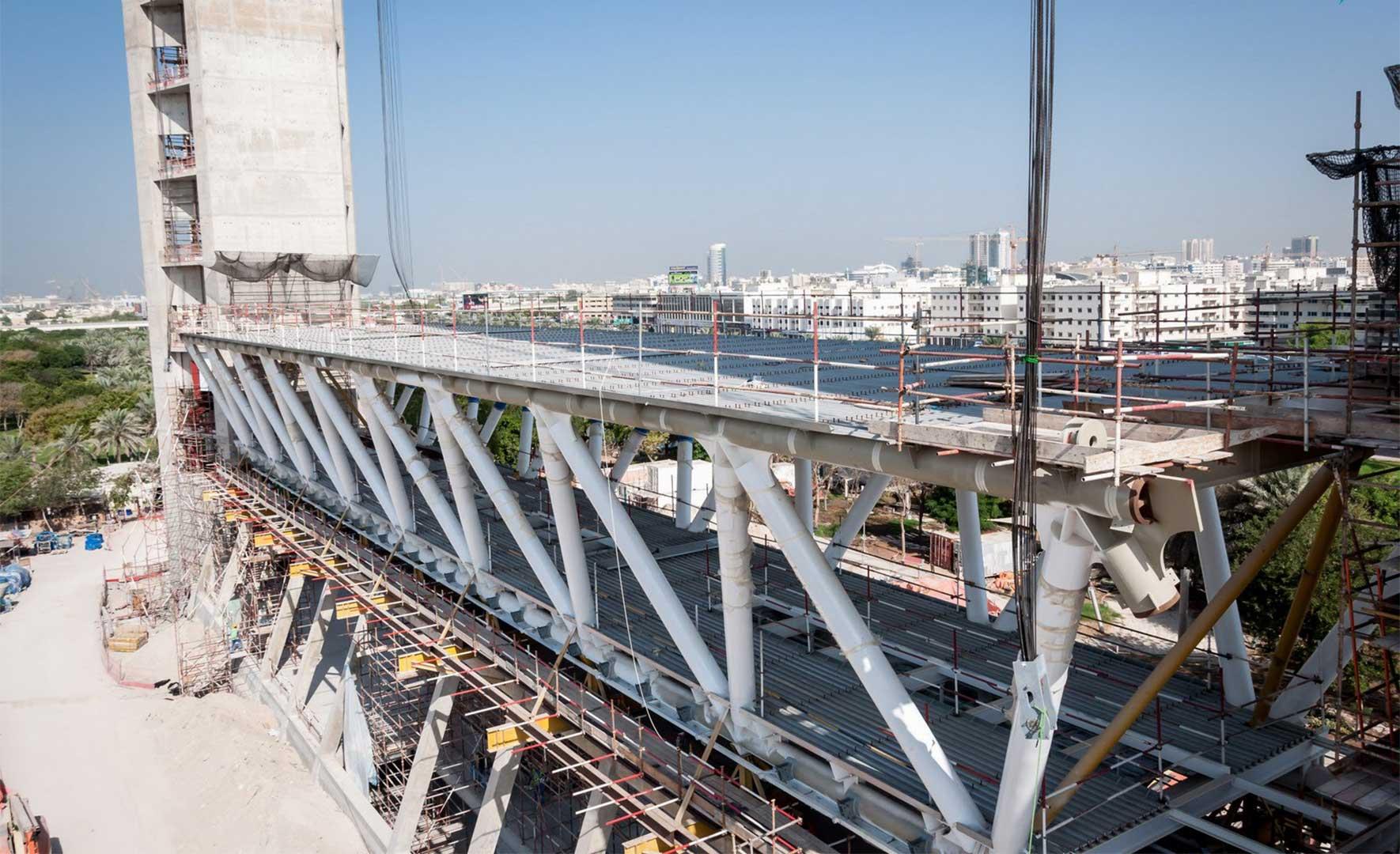 دبی - جاذبههای دبی - ساخت سازه