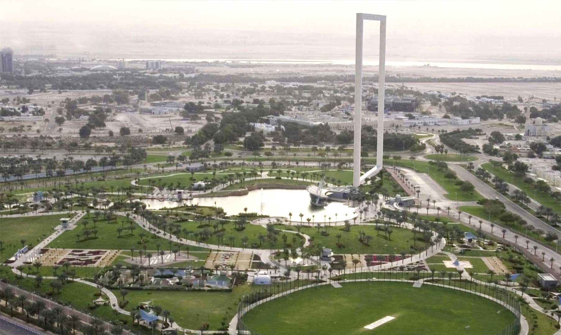دبی - جاذبههای دبی - مجسمه