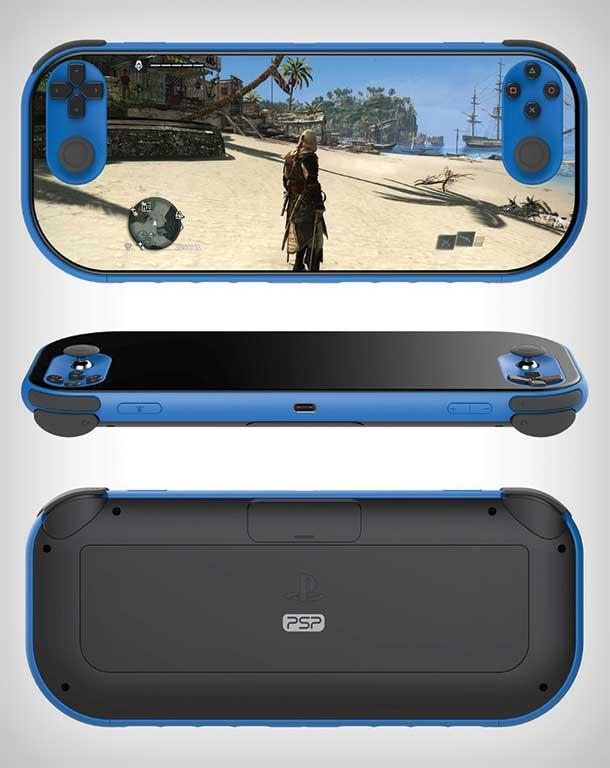 کنسول بازی پی اس پی تمام صفحه PSP 2018