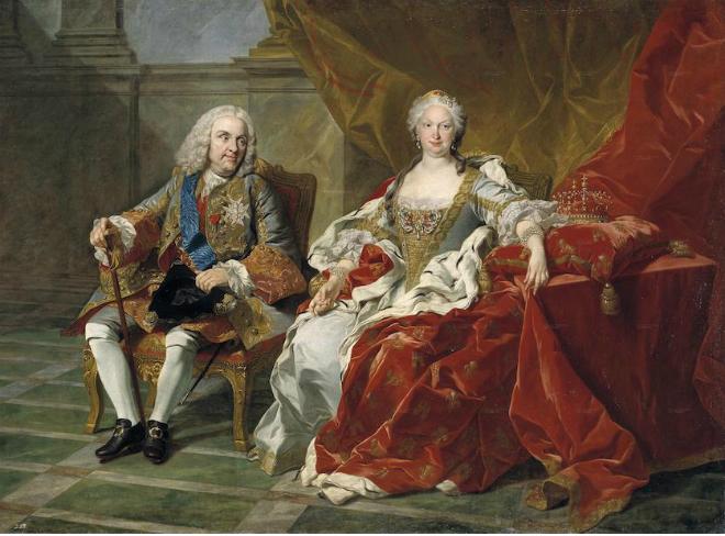 شاه فیلیپ و ملکه