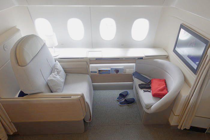 لوکس ترین هواپیمای دنیا - فرانسه