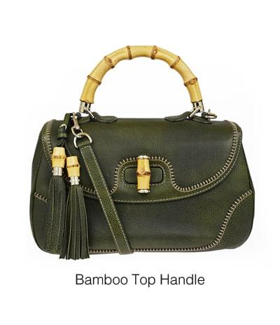 کیف گوچی با دسته بامبو