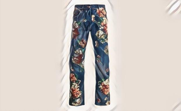 شلوار جین جنیوس گوچی gucci-genius-jeans