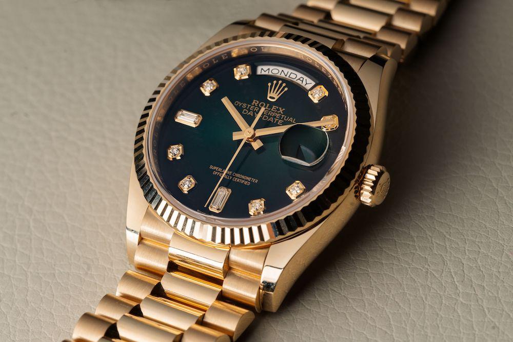 ساعت مردانه شیک Rolex-Day-Date