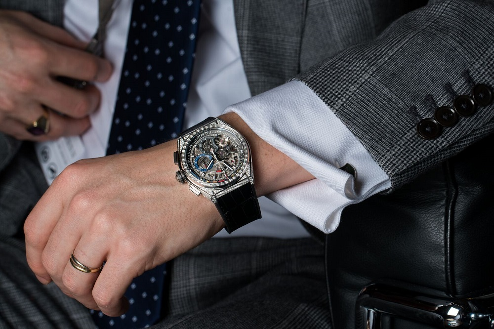 ساعت مچی Zenith-Defy-21-diamonds