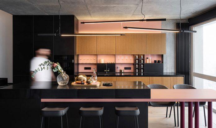 ایده دکوراسیون داخلی آشپزخانه اوپن