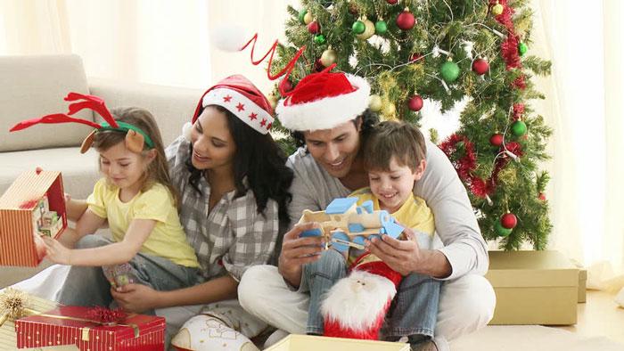 جشن کریسمس با خانواده