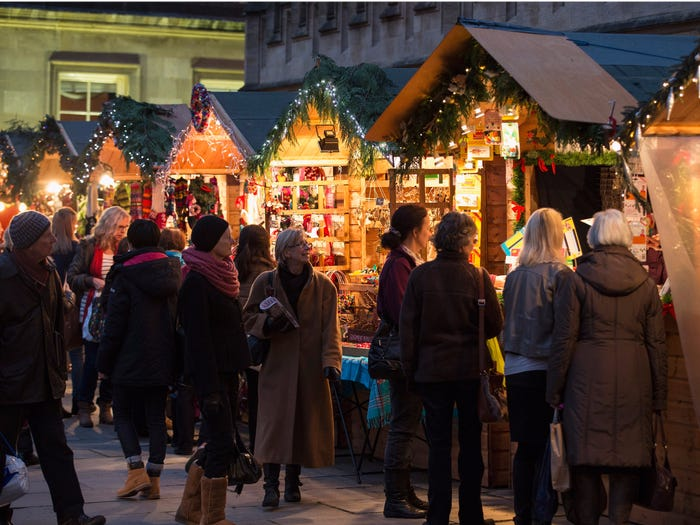 بازارهای مخصوص کریسمس