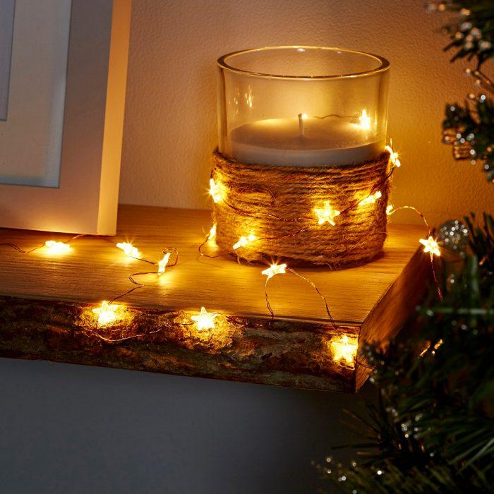 تزئین شمع برای کریسمس 2020
