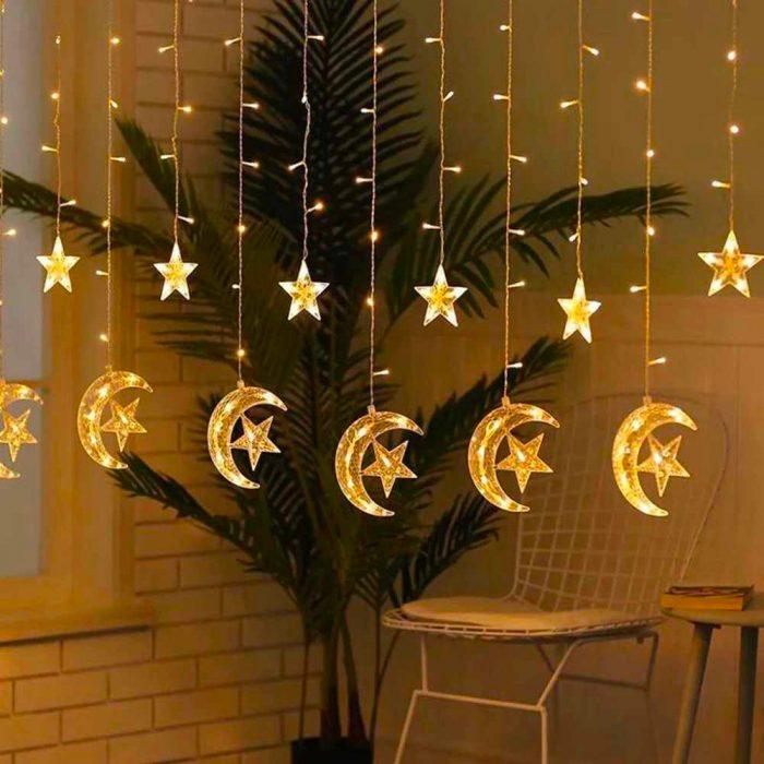 ریسه چراغ آویز برای جشن کریسمس
