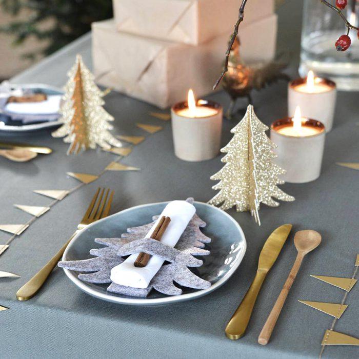 حلقه دستمال برای تزئین کریسمس