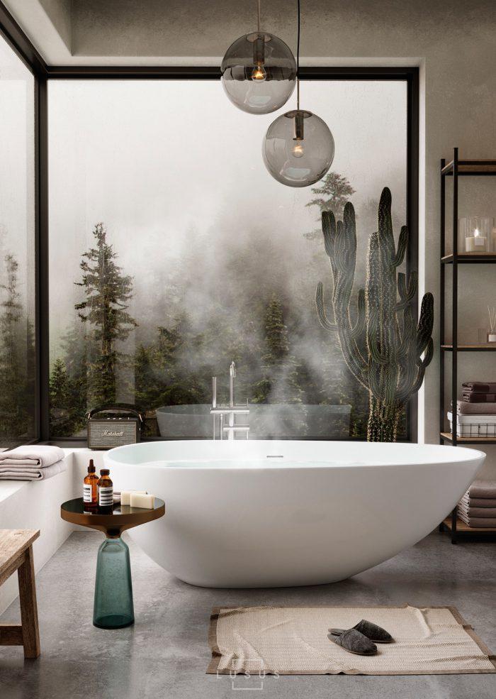 حمام لاکچری زیبا
