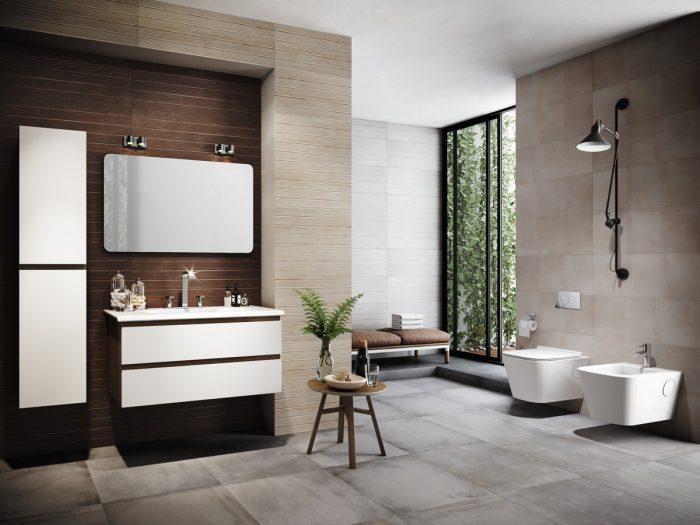 کابینت حمام لاکچری