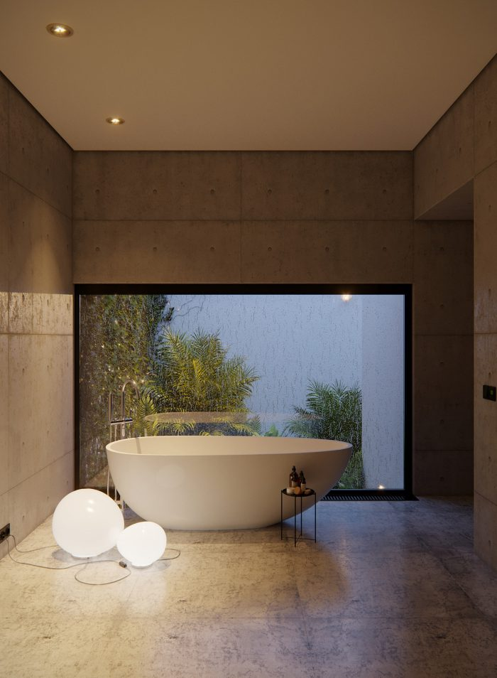 حمام مدرن و لاکچری