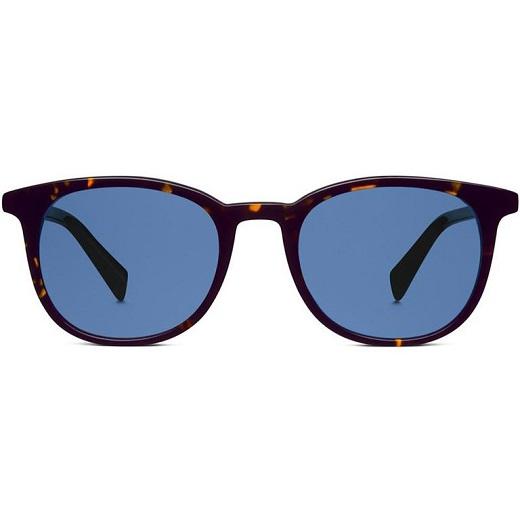 عینک دودی با لنز آبی هدیه روز ولنتاین