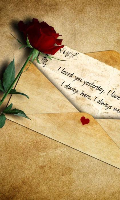 نمه عاشقانه برای روز ولنتاین