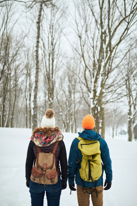 قدم زدن در روز ولنتاین