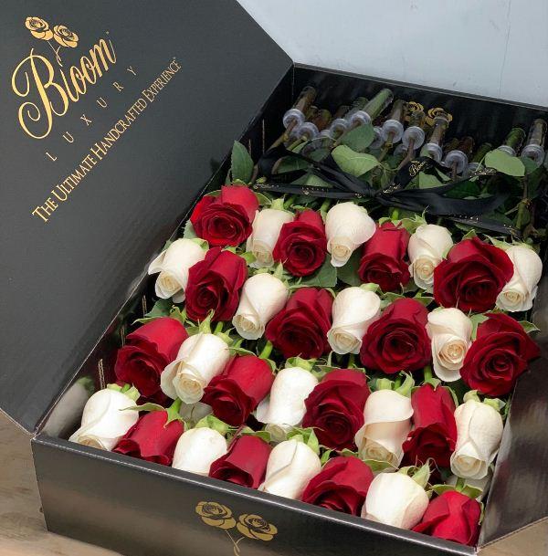 دسته گل هدیه ولنتاین برای خانم ها