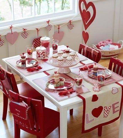 میز غذای عاشقانه
